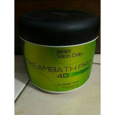 Makarizo Salon Daily Creambath Pro 4d 500gr Shopee Indonesia