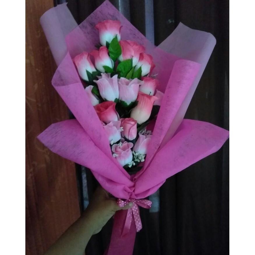Buket Bunga Bunga Bunga Valentine Bunga Wisuda Shopee Indonesia