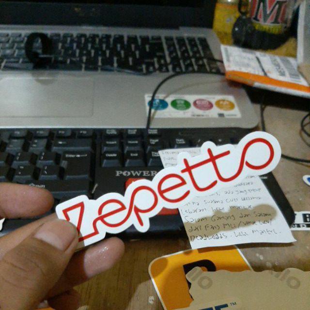 Sticker Stiker Zepetto Interactive Indonesia Shopee Indonesia