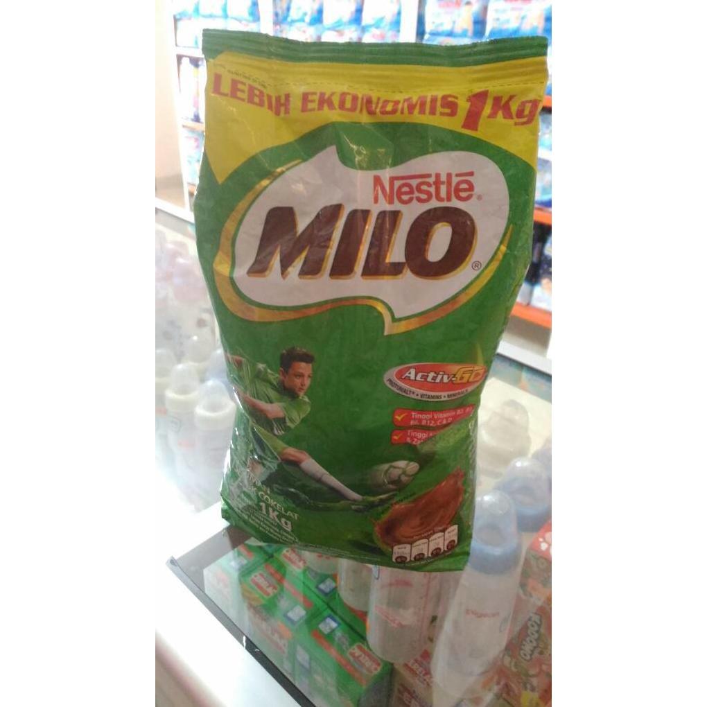 Cuci Gudang Milo Active Go Minuman Bubuk Rasa Coklat Susu Bubur Big  Perasa Segar 1kg Ekonomis Shopee Indonesia