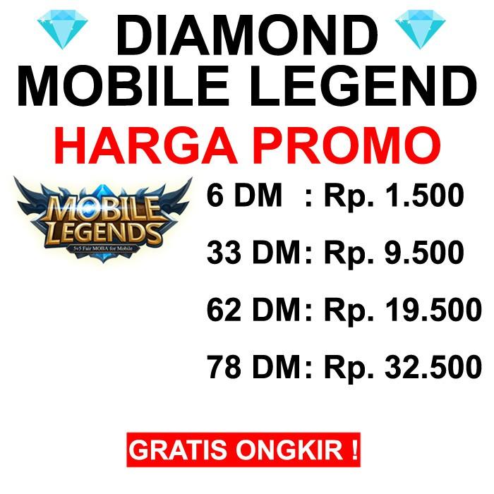 Harga Diamond Legend Terbaik Gaming Voucher Februari 2021 Shopee Indonesia