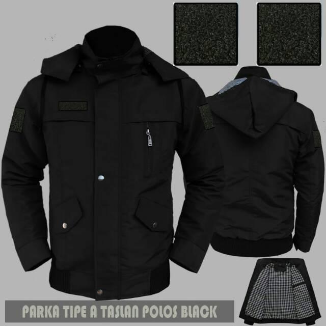 530+ Desain Jaket Parka Polos Gratis Terbaru