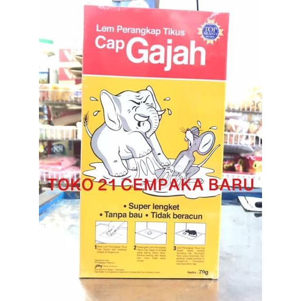 GAJAH LEM PERANGKAP 70GR | Shopee Indonesia -. Source ... Harga CAP GAJAH