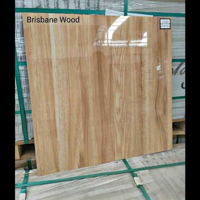 Granit / Granit 60X60 Motif Kayu Glossy Brisbane Wood