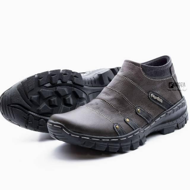 Sepatu boots kulit asli pria laki laki jim joker haper 72  a9921ddf27