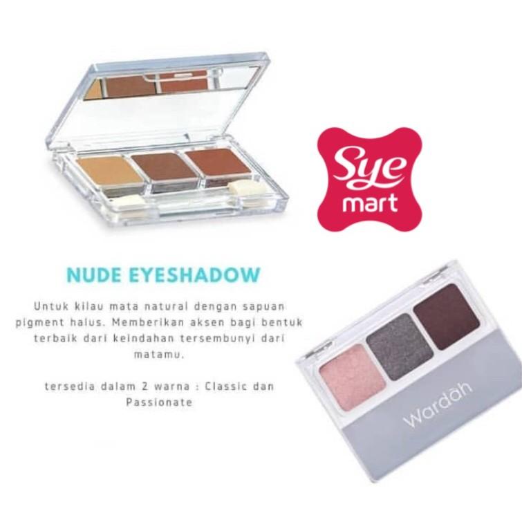 Wardah Nude Colours Eye Shadow Classic .