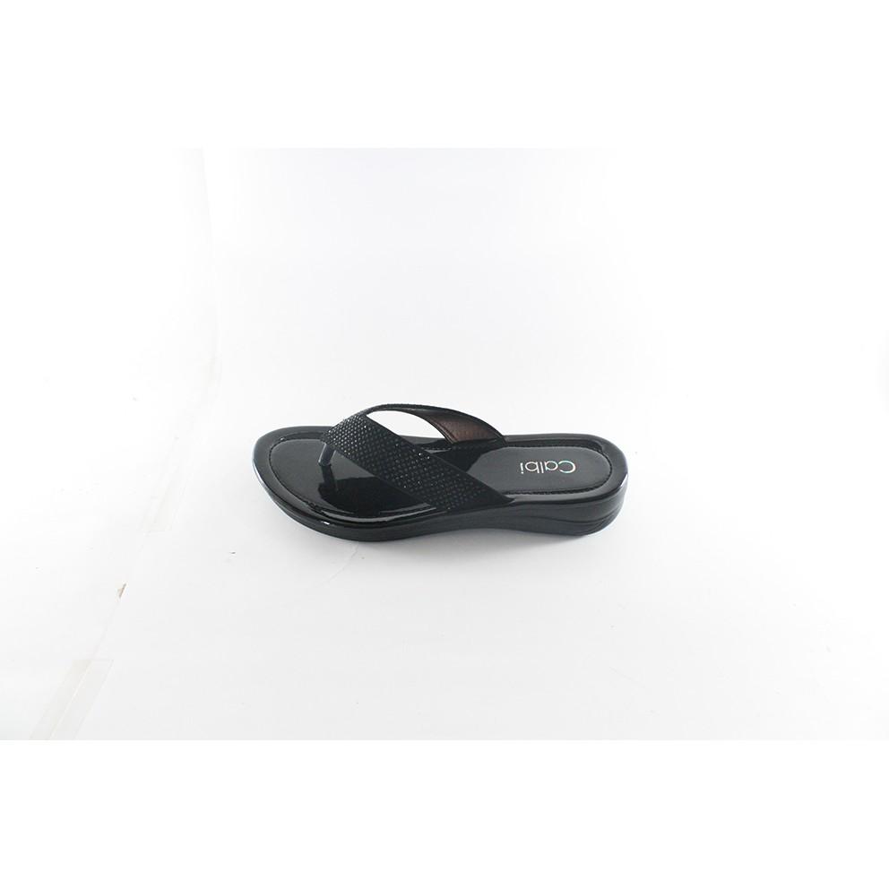 on time timmy sandal jepit wanita hitam murah gratis promo original nyaman awet sol empuk  