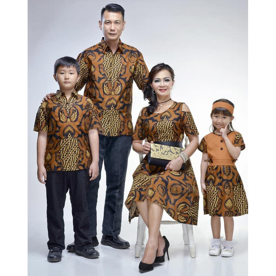 72 Desain Baju Batik Couple   Desaprojek