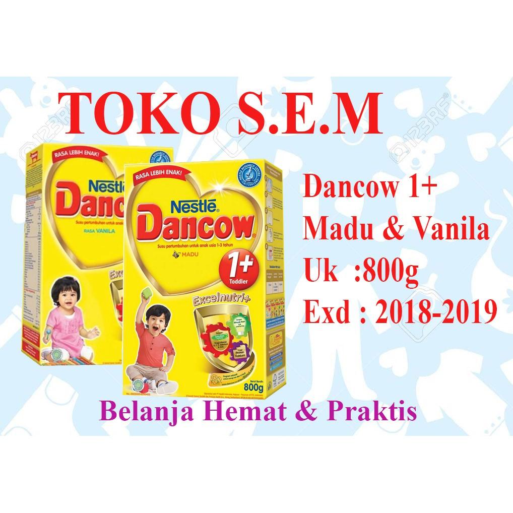 Dancow 1 Vanila Madu Coklat Susu Formula 800 Gr Shopee Indonesia 1plus Colkat