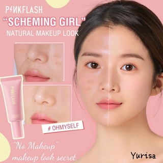 Pinkflash Ohmyself Foundation Matte Tahan Lama 6warna thumbnail