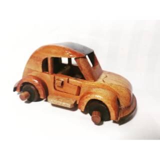 Car Craft Vw >> Mainan Mobil Vw Kayu Klasik Jadul Craft Kerajinan Tangan Wooden Car