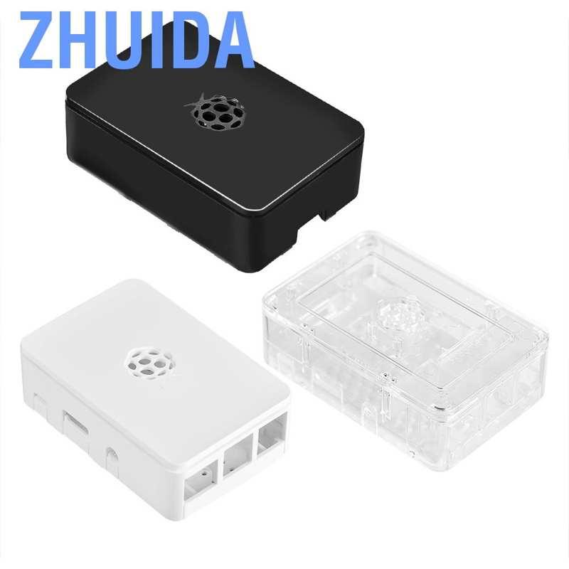 KEYES Camera Black ABS Plastic Case Cover Shell For Raspberry Pi  3 Model B
