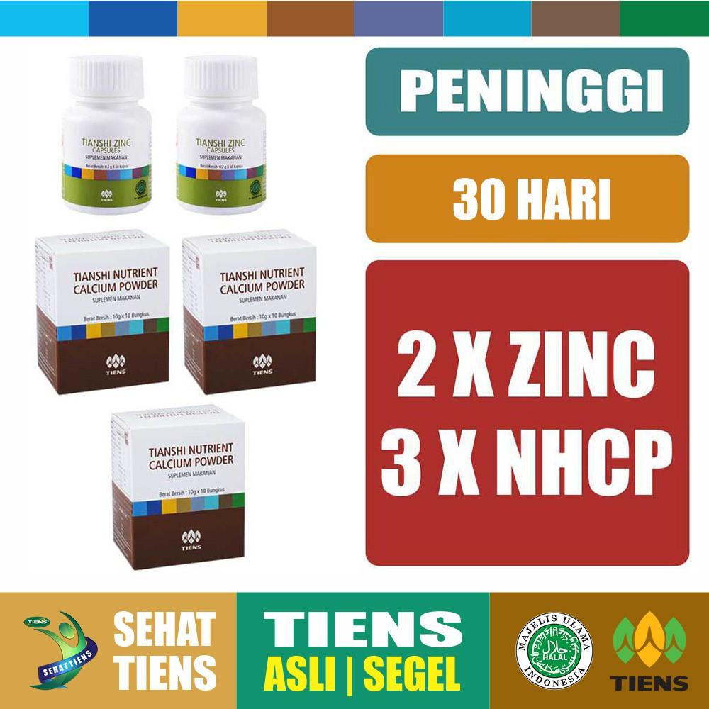 Tiens Promo Paket Peninggi Badan Silver Zinc Nutrient Calcium Powder Tianshi Nhcp Kalsium Dewasa Herbal Ab1 San 1 Botol 2 Box