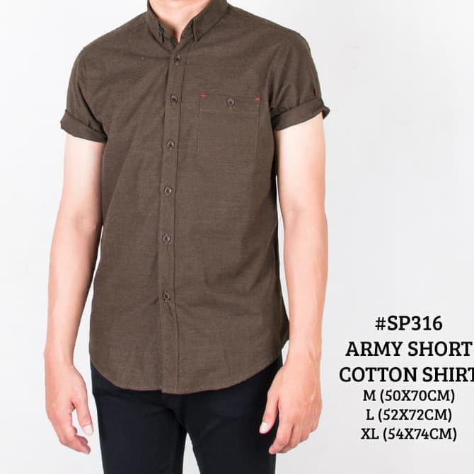 kemeja army - Temukan Harga dan Penawaran Online Terbaik - Pakaian Pria September 2018 | Shopee