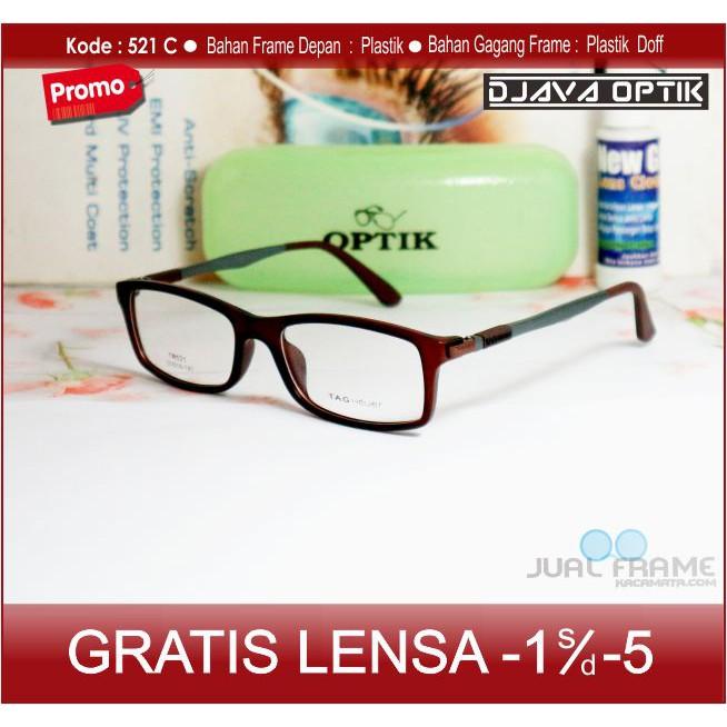 Frame Kacamata CK + Lensa Minus Baca Anti Radiasi Komputer Kacamata Hitam  Retro Pria Wanita  707b7f6b65