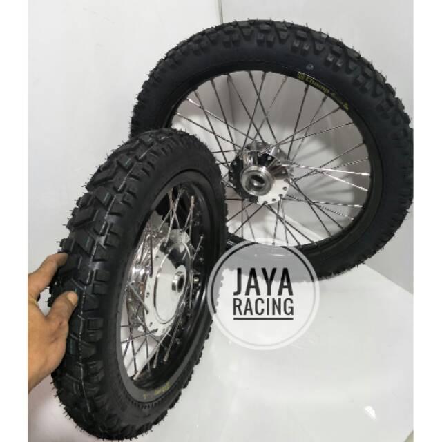 Sepaket Velg Ring 14 17 Matic Beat Street Model Klx Paket Komplit Plus Ban Dan Stel Ready All Matic