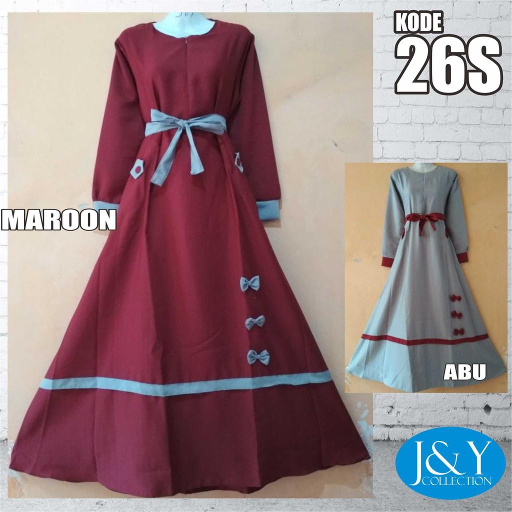 Baju Muslim Balotelli Gamis Dress Party Dress Long Dress