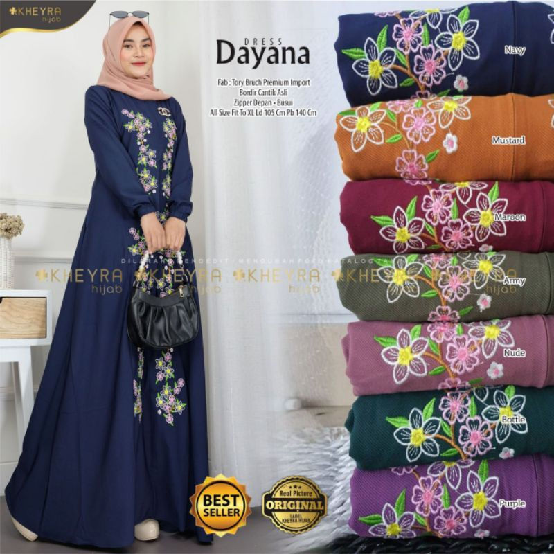 DRESS TORY BURCH // MAXY DAYANA ORIGINAL BY KHEYRA