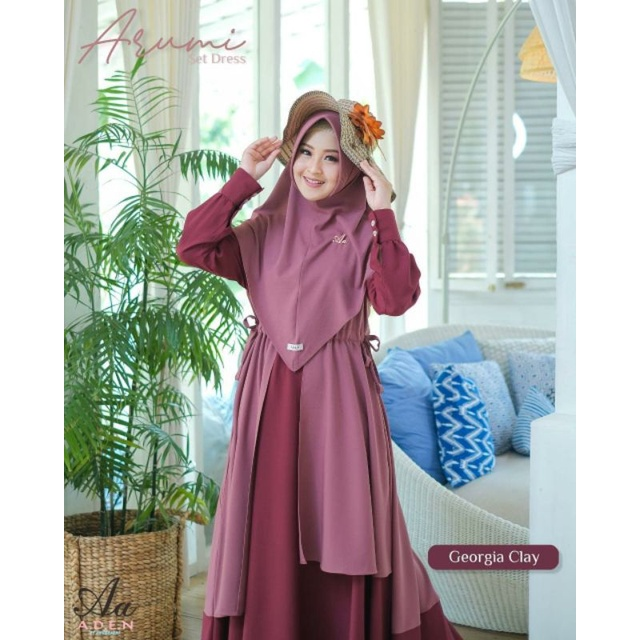 Gamis Arumi by Aden. Dress only
