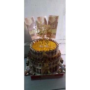 Money Cake/Kue Ultah Uang