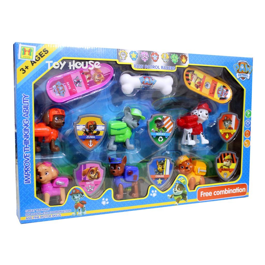mainan anak paw patrol combination ky030  shopee indonesia