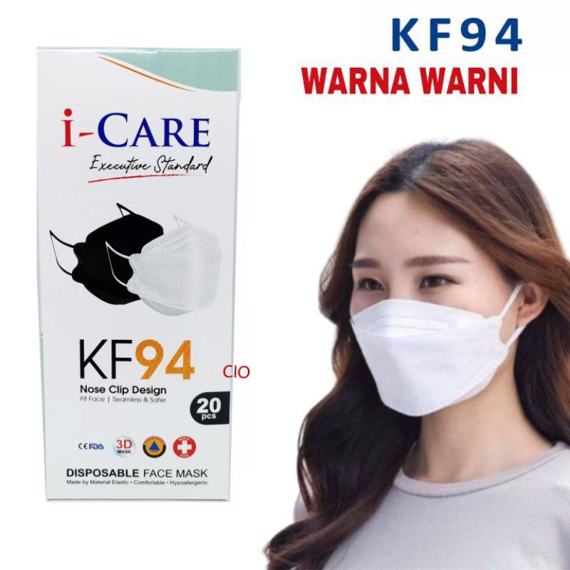 Jual MASKER KOREA KF94 KN94 MEDIS EVO WARNA 10 PCS