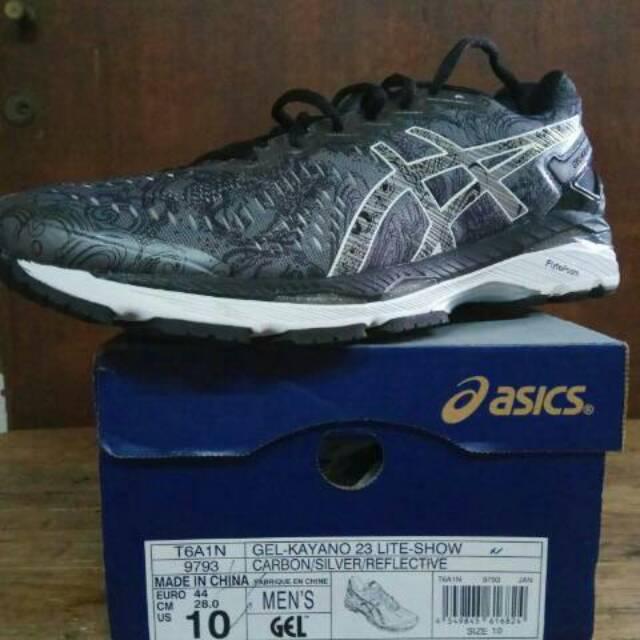 Sepatu asics gel kayano 23 original grey abu Shopee Indones skate shoes  4a23c . faa400032b