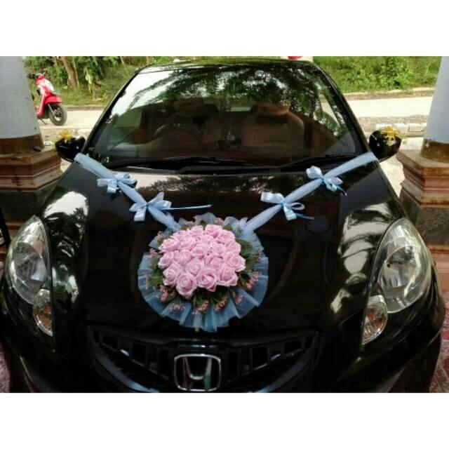 Bunga Hias Mobil Pengantin Bunga Mobil Pengantin Shopee Indonesia