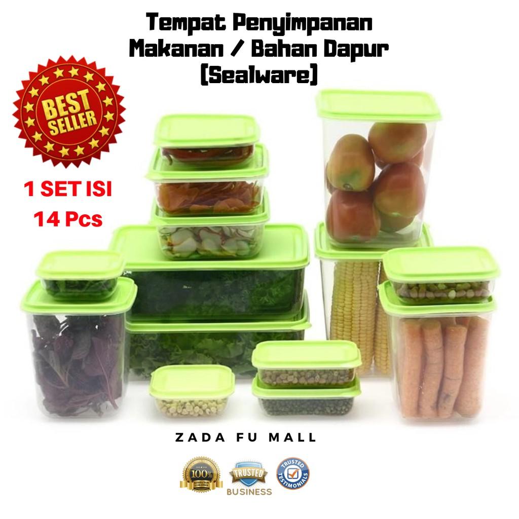 toples penyimpanan makanan bambang toples serbaguna isi 20 pcs | Shopee Indonesia