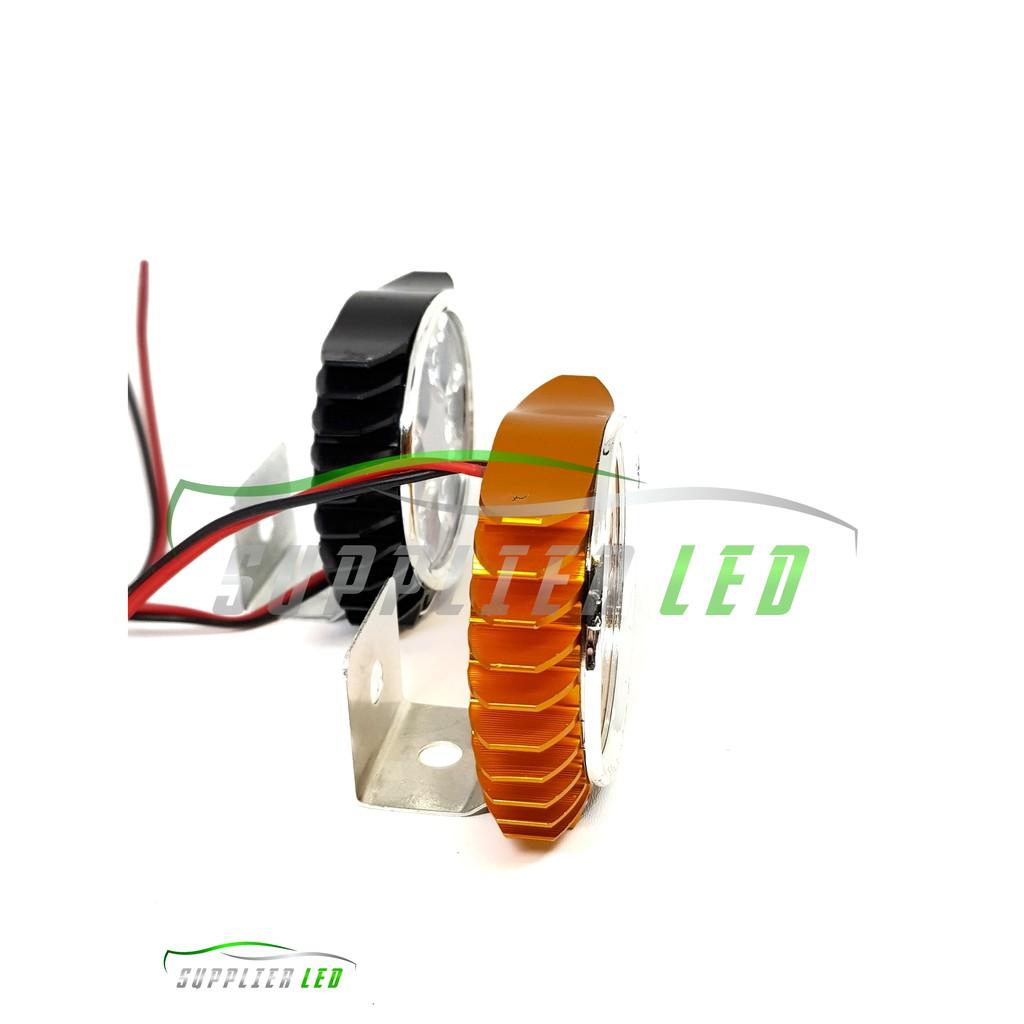 Lampu Tembak Sorot Motor Mobil Led 6 Mata Gepeng Slim Super Terang Rtd E03d Design Shopee Indonesia
