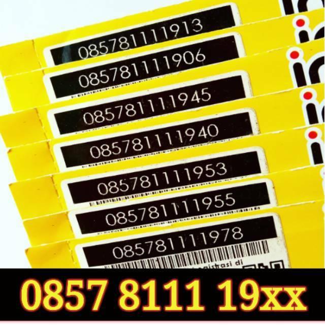 Nomor Cantik IM3 4G LTE Nocan Kartu Perdana Indosat Ooredoo Triple Nomer Murah Meriah Super 1111