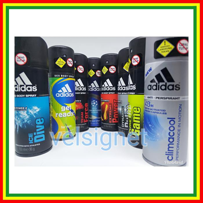 Harga Preferensial Original Adidas Extreme Power Deo Body Spray