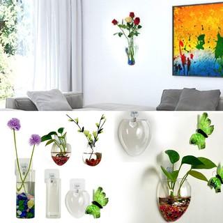 Vas Bunga Tanaman Hidroponik Dengan Model Gantung Dan Bahan Kaca Transparan