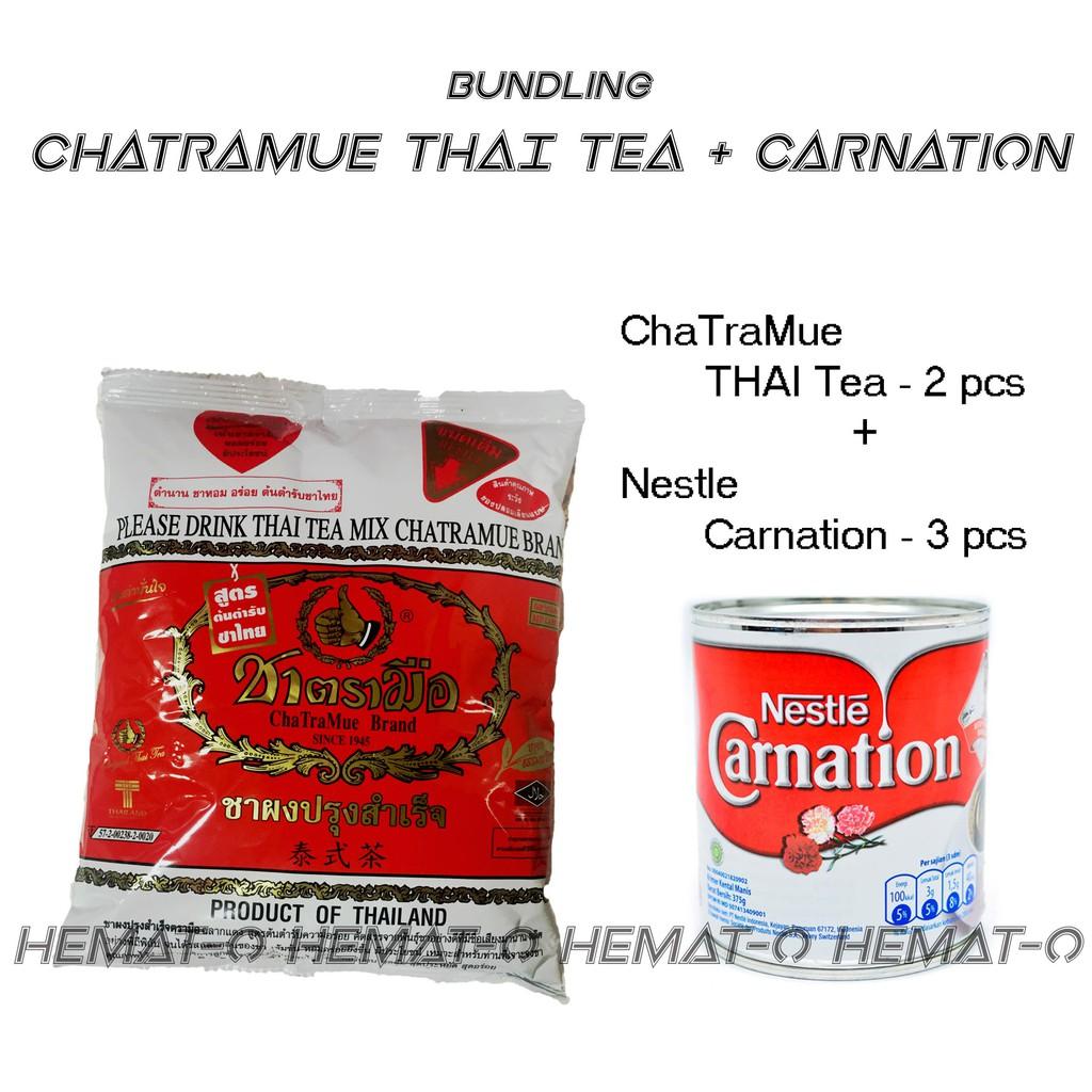 Bundling C1 Chatramue Thai Tea Green Carnation By Paket Hemat Dan O Shop Shopee Indonesia
