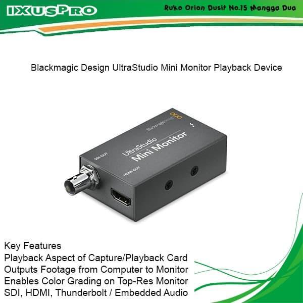 Blackmagic Design Ultrastudio Mini Monitor Shopee Indonesia