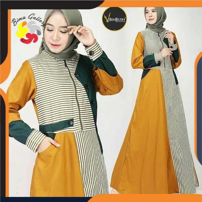 Baju Gamis Syari Murah Terbaru Modern Qazwa Collection Shopee Indonesia