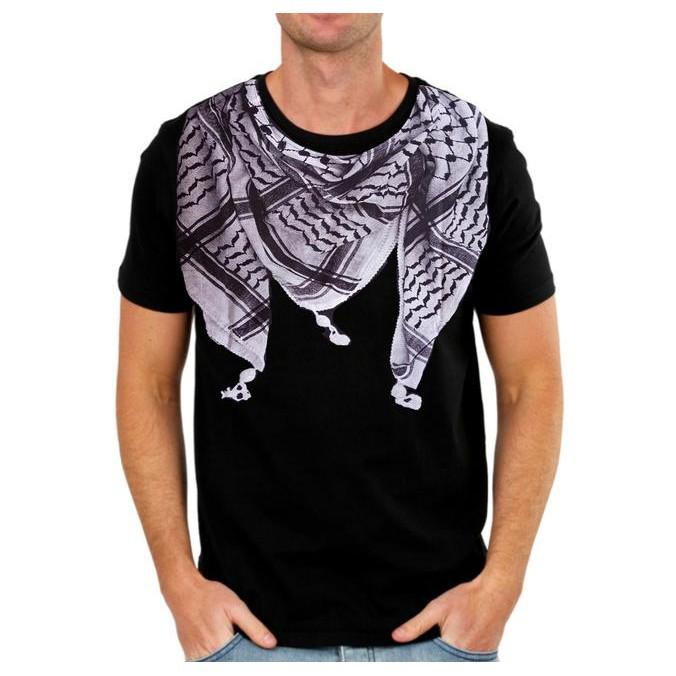 Pakaian Pria Kaos Muslim Baju Lebaran model SORBAN PITA PUTIH 3D   Shopee Indonesia