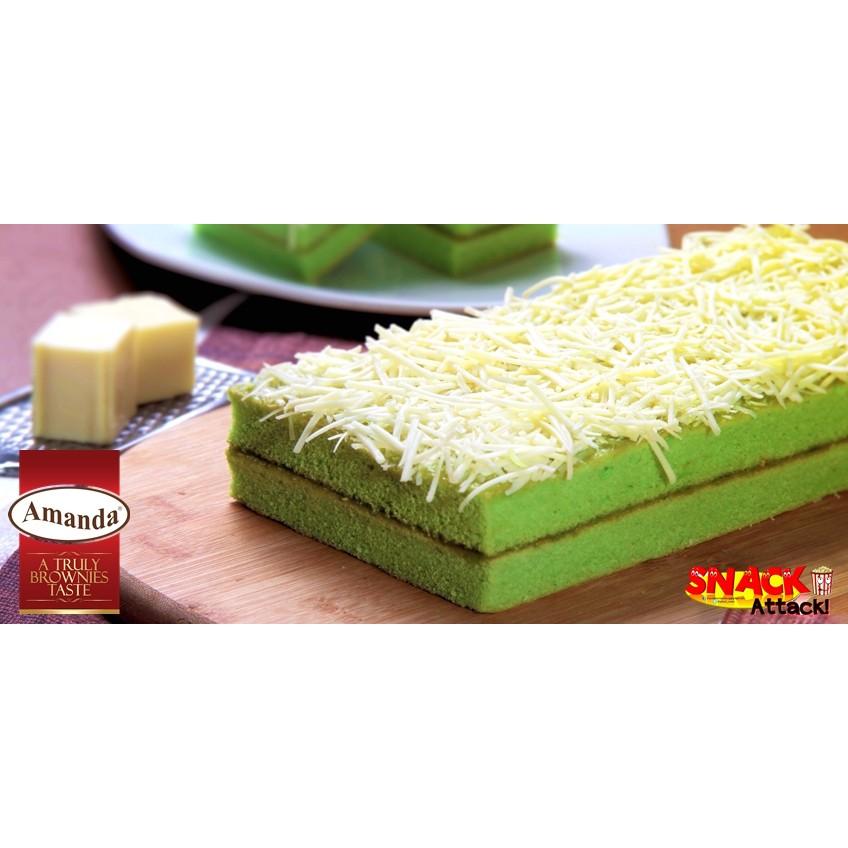 Bolu Pandan Cake Amanda - Brownies Amanda
