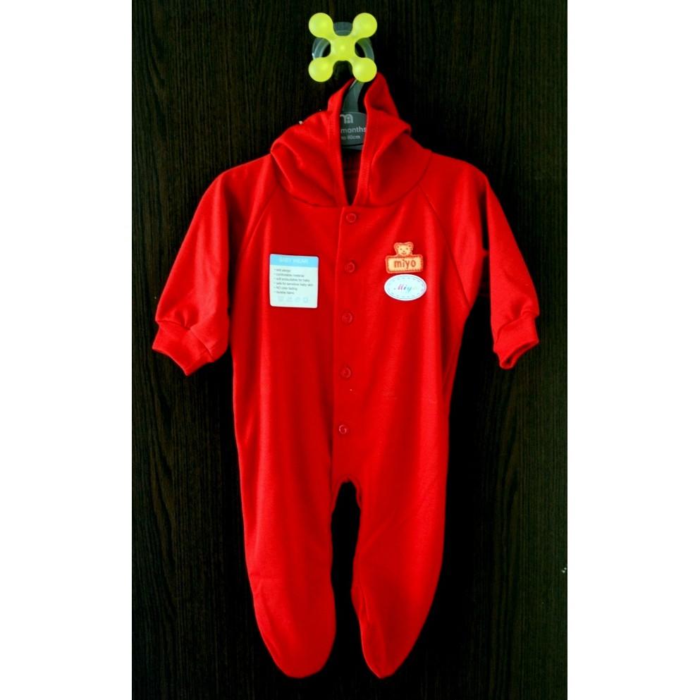 Miyo Jumper Segiempat Motif Size 0 3 Bulan Shopee Indonesia Red Baju Kodok