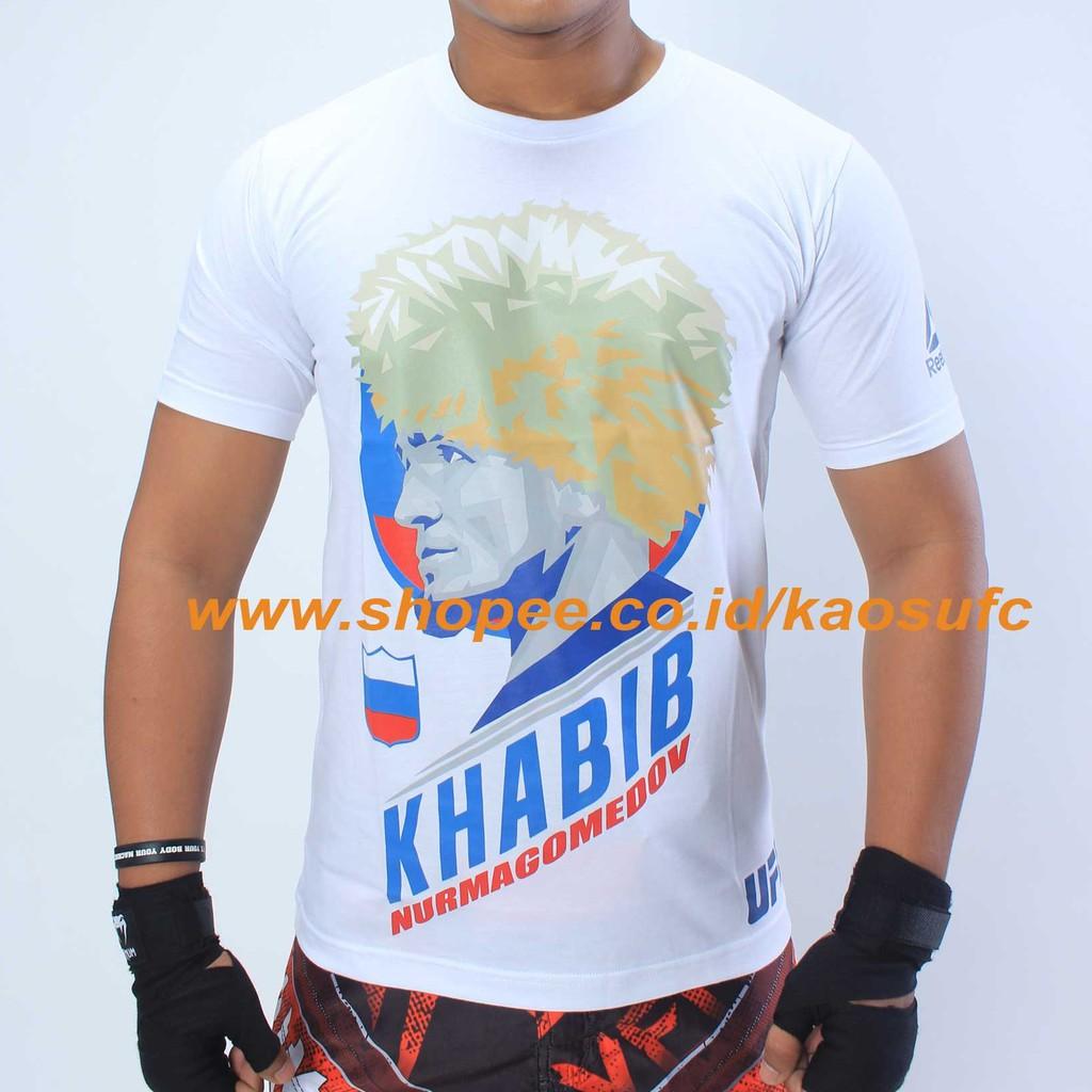 Kaos Khabib UFC, T Shirt Khabib Nurmagomedov, Kaos UFC ...