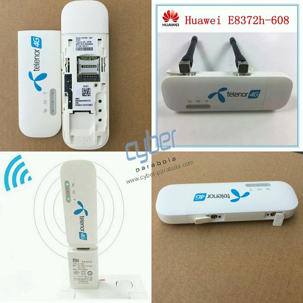 Huawei E8372 Telenor 4g Lte Usb Wifi Shopee Indonesia Home Router B315 Unlock Garansi Resmi 1 Tahun