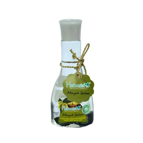 [BPOM] HERBORIST Zaitun Series - Body Wash / Shampoo / Lotion / Sabun Wajah / Minyak 75ml / 150ml-Minyak Zaitun 75ml