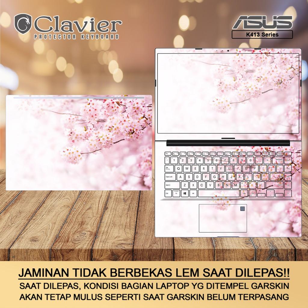 Cover Garskin Laptop Asus VivoBook 14 K413 K413E K413EA K413EQ Bening Transparan Gambar Fullbody