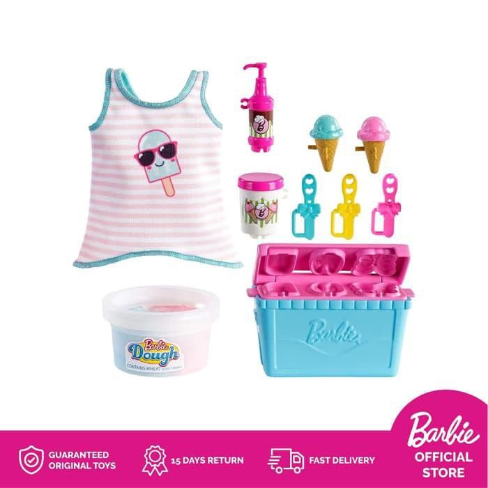 Diskon Spesial Barbie Cooking And Baking Accessory Pack Ice Cream Mainan Aksesoris Termurah Shopee Indonesia