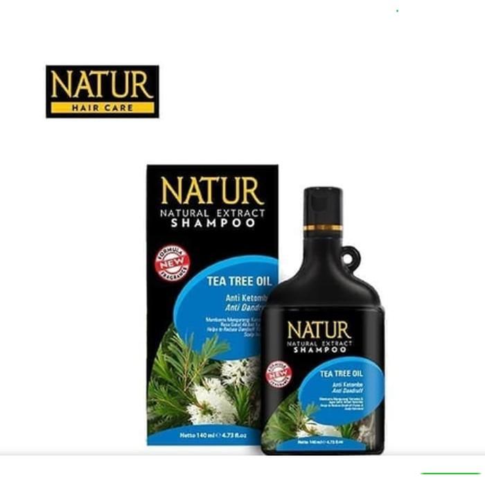 Natur Hair Shampoo Anti Dandruff-Anti Dandruf 80ml