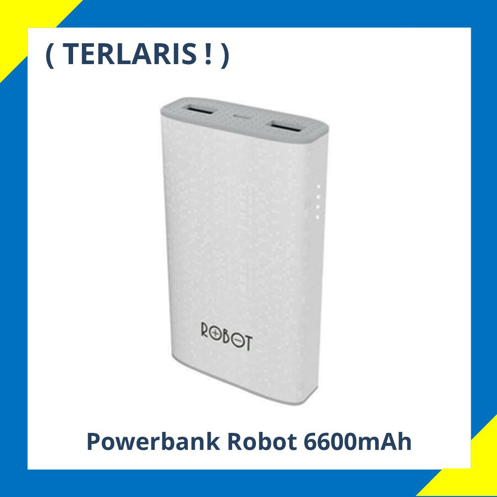 Powerbank Robot Rt Temukan Harga Dan Penawaran Baterai Rt7100 7100 6600mah Power Bank 2 Port Usb Online Terbaik Handphone Aksesoris November 2018 Shopee Indonesia