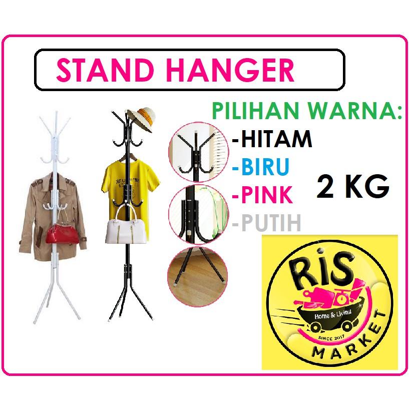 Stand Hanger / Gantungan Tiang Berdiri / Hanger Gantungan Baju Tas | Shopee Indonesia