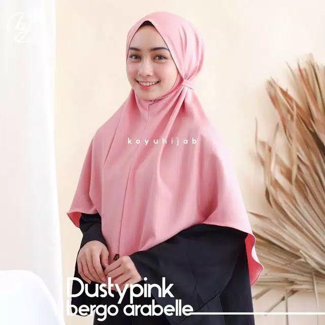 Bergo Arabelle Khimar Jumbo Jilbab Instan Murah Fashion Jilbab Khimar Bergo Shopee Indonesia