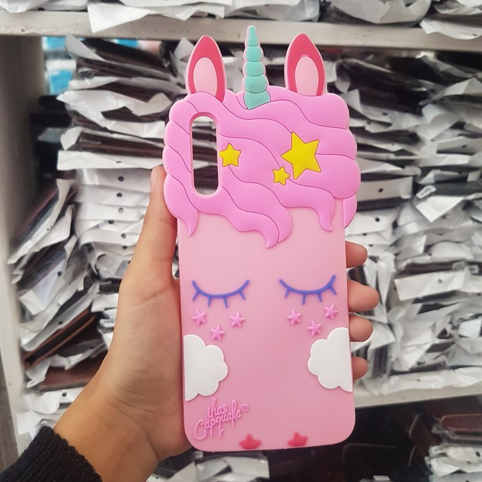 Softcase 3d Karakter Unicorn Samsung A50 Casing Kartun Kuda Poni Lucu Shopee Indonesia