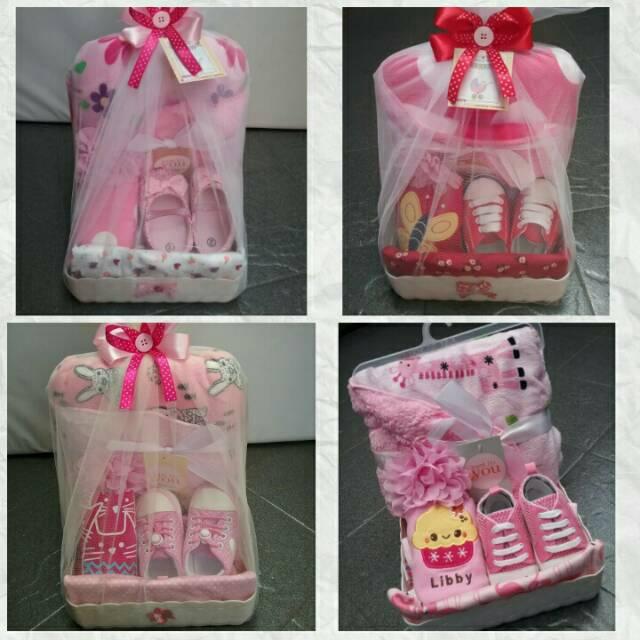 Paket Kado Baby Baby Hampers Parcel Bayi Perempuan Shopee